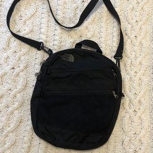 The North Face crossbody multi purpose travel bag